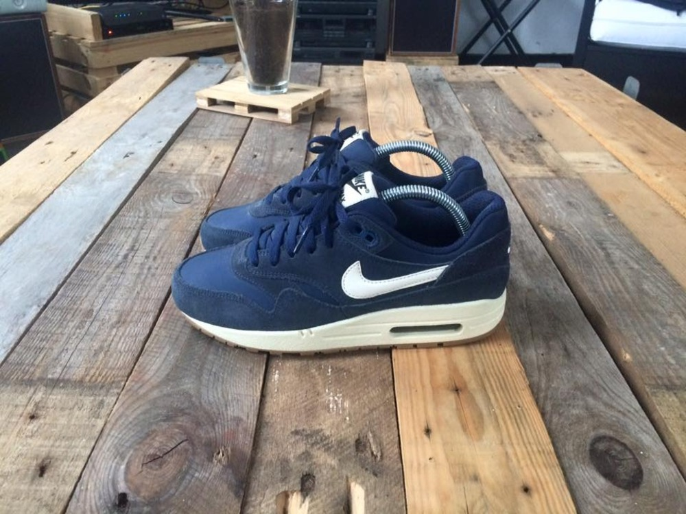 Nike Air Max 1 Purple Suede For Sale