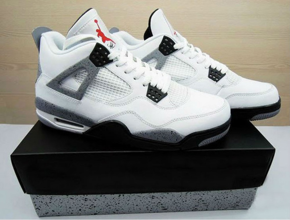 Air Jordan 4 White Cement 2016