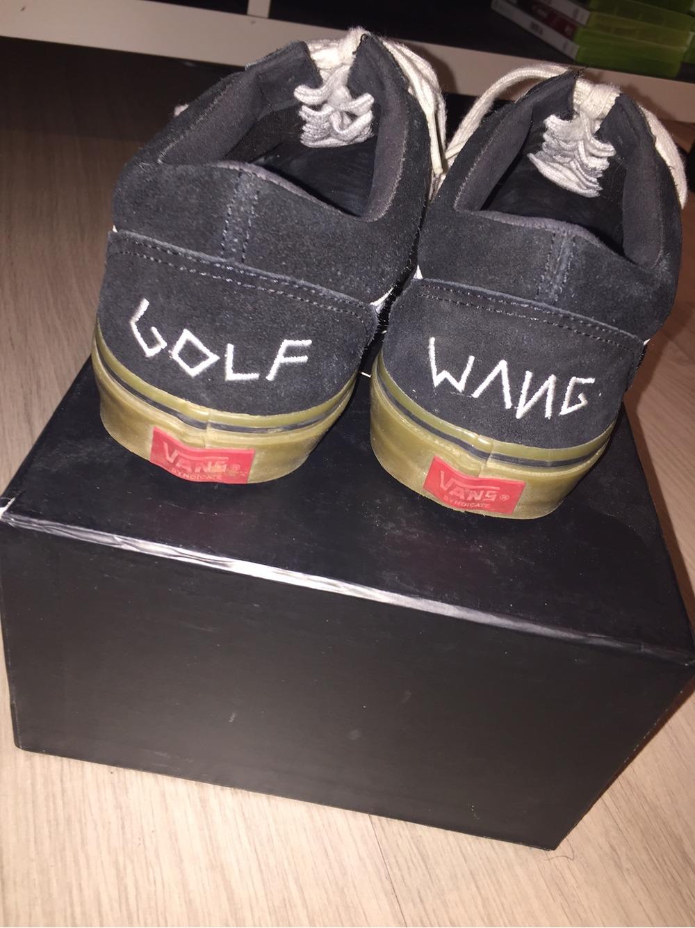 vans golf wang black original