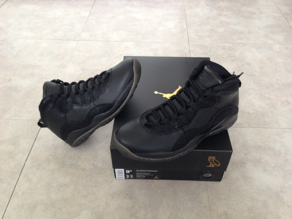 air jordan 10 ovo black uk