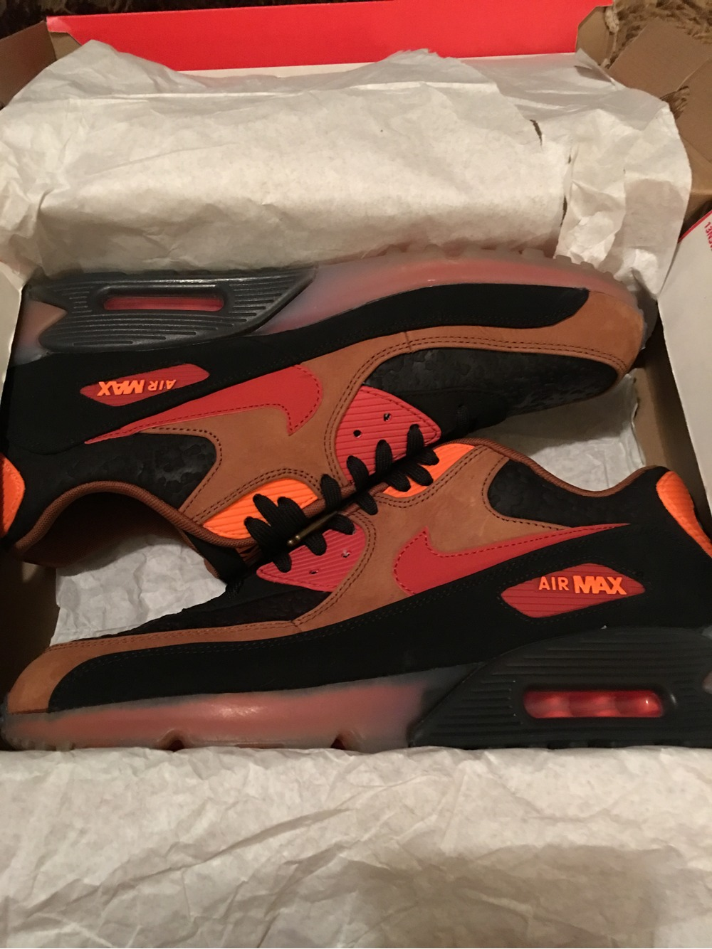 nike air max 90 ice halloween
