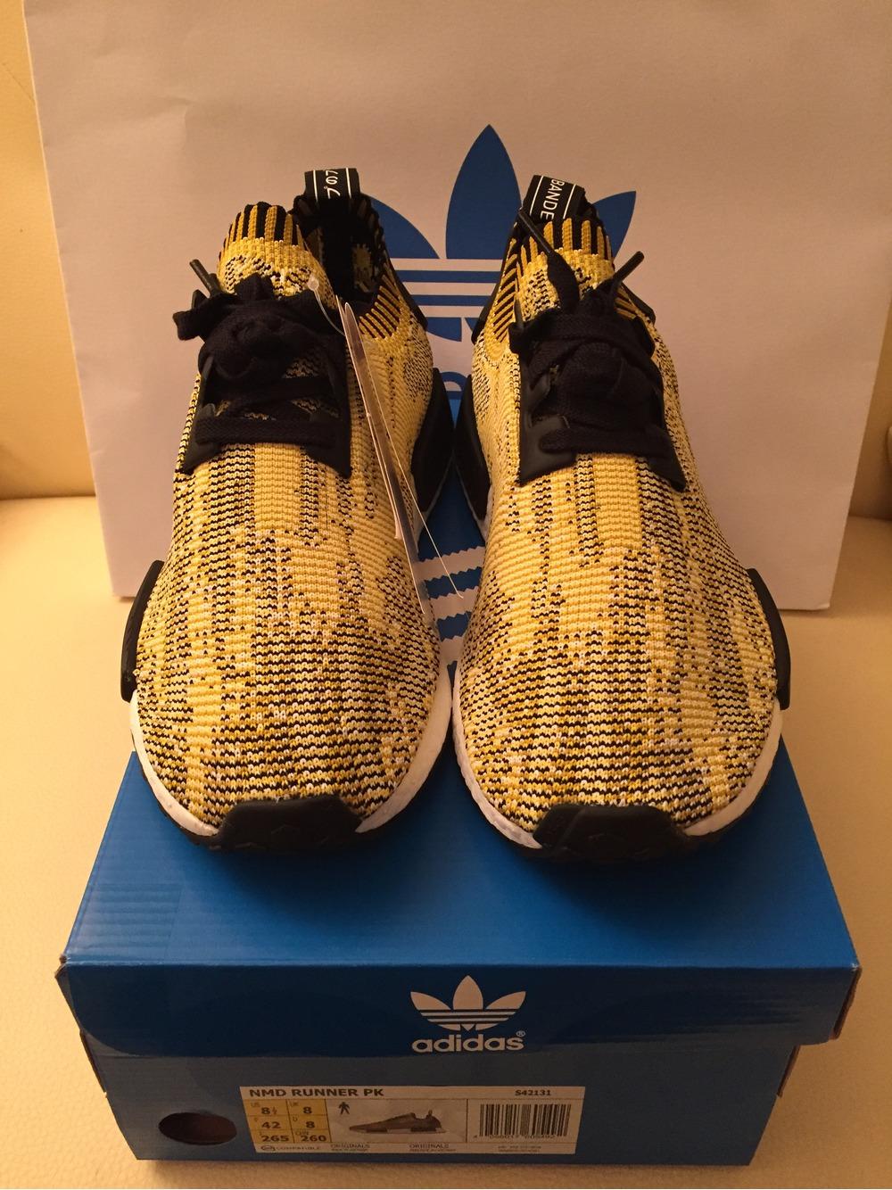 Adidas Nmd Runner Yellow Camo