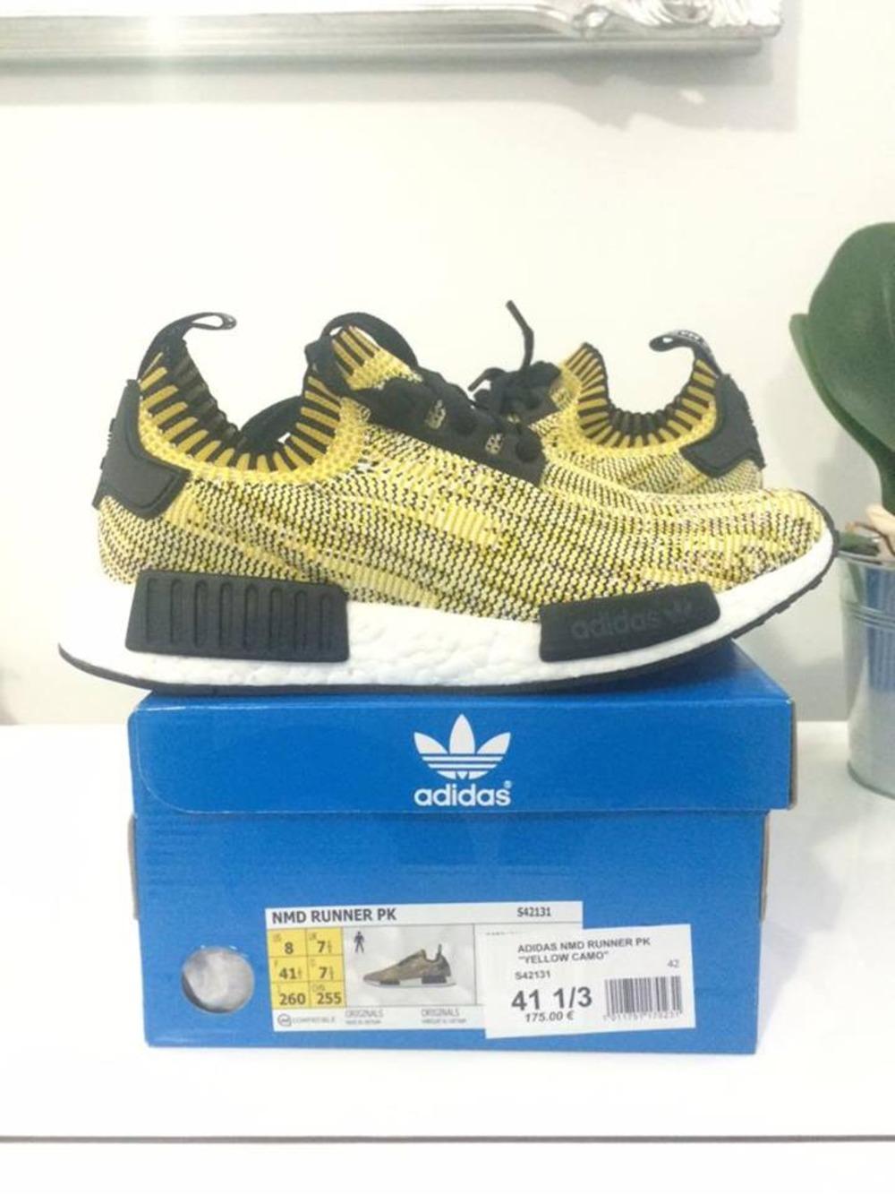 opxfoe Adidas NMD Runner PK yellow (#300666) from elayuno at KLEKT