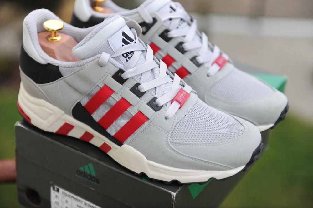 Adidas Eqt White Red