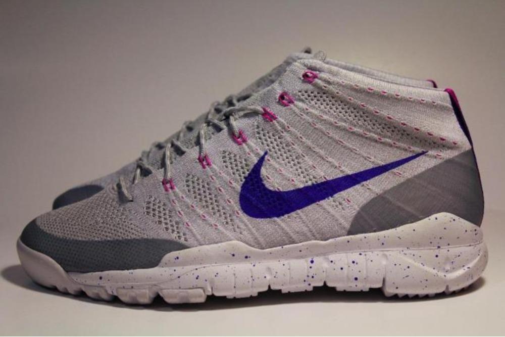 Nike Entrenador Flyknit Lobo Gris Chukker Fsb / Laguna Azul / Oscuridad venta barata perfecta footlocker en venta FuuEeHFC