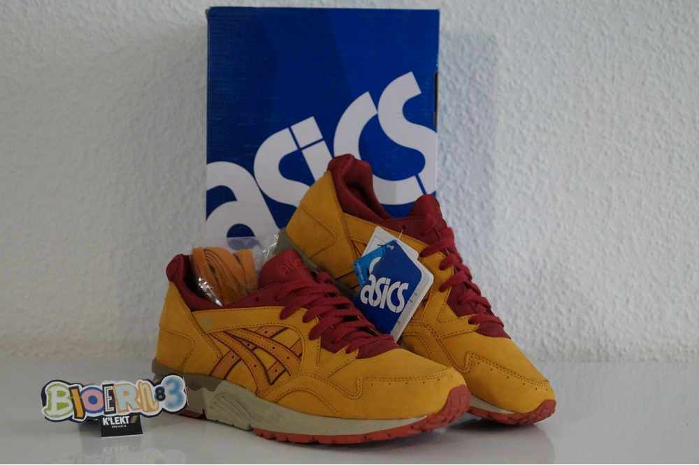 Asics Gel-Lyte V Tan Tan Nubuk Pack - photo 1/5