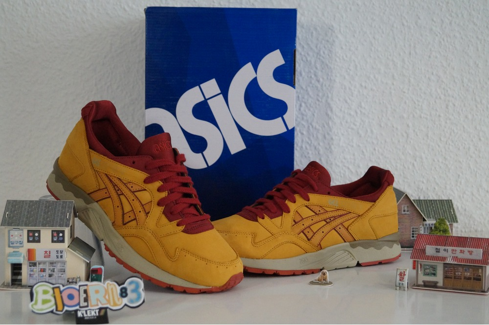 Asics Gel-Lyte V Tan Tan Nubuk Pack - photo 2/5