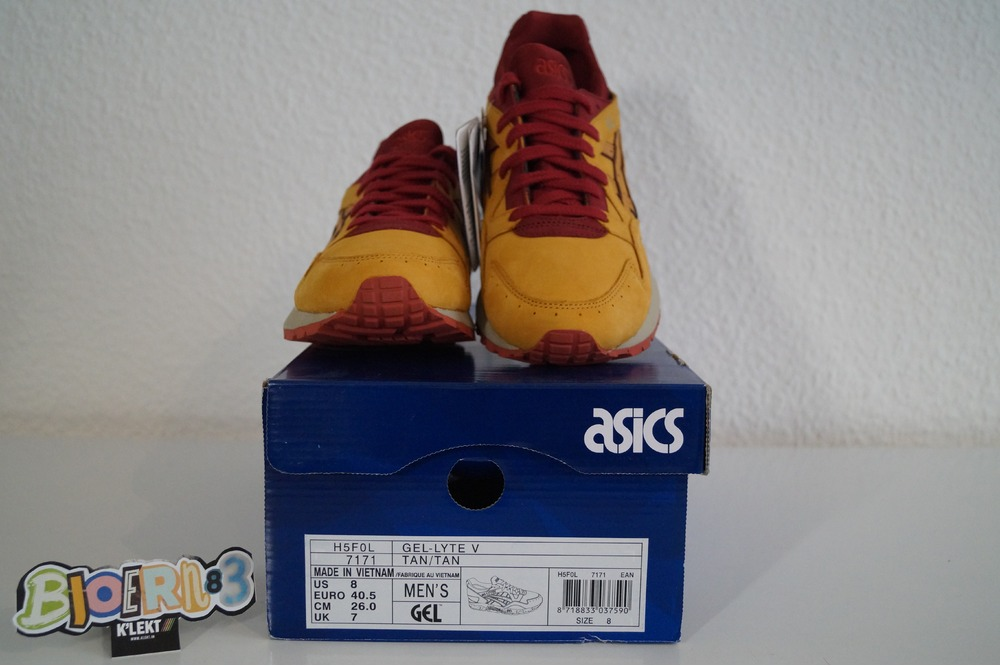 Asics Gel-Lyte V Tan Tan Nubuk Pack - photo 5/5