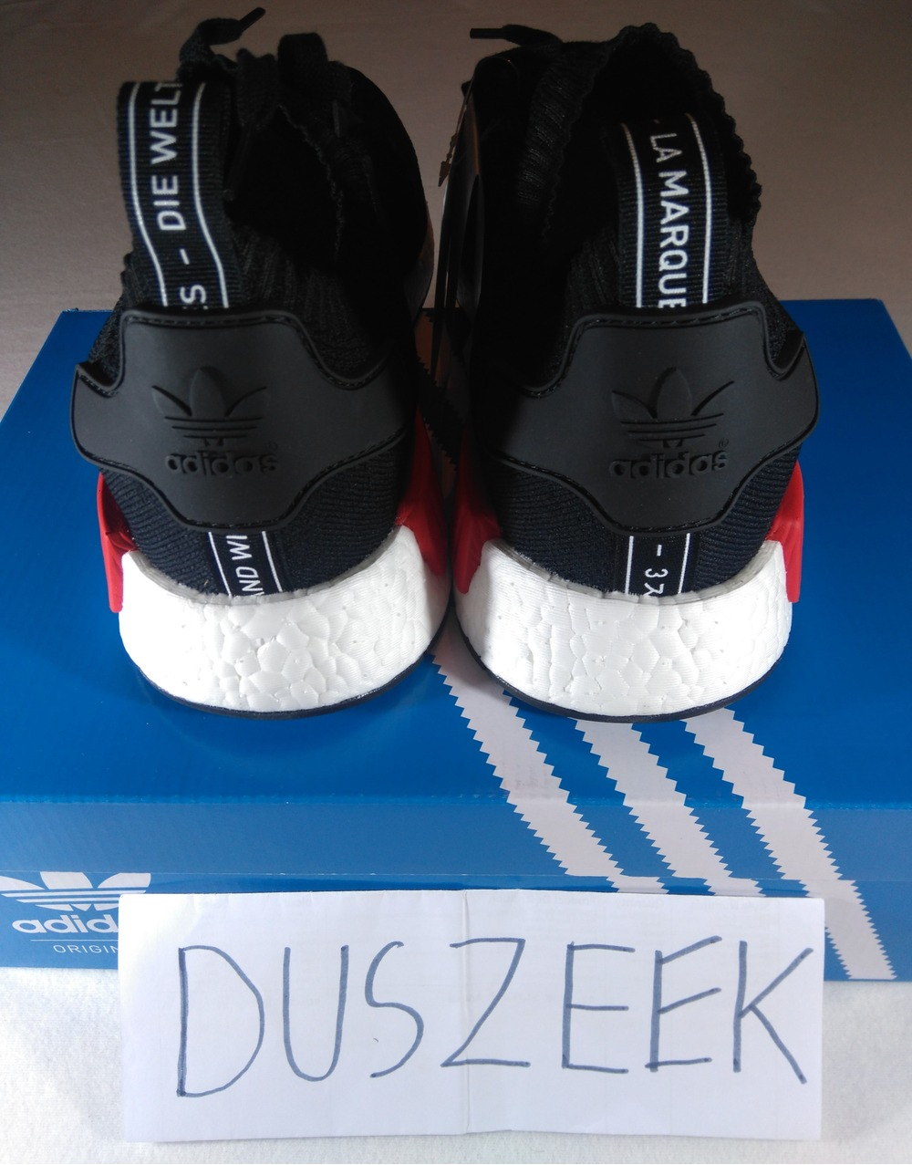 Adidas NMD R1 Primeknit OG Unboxing (2017)