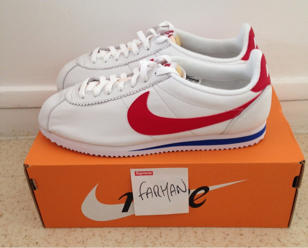 classic cortez se; nike cortez og forrest gump leather ds 12.5us 47eu photo