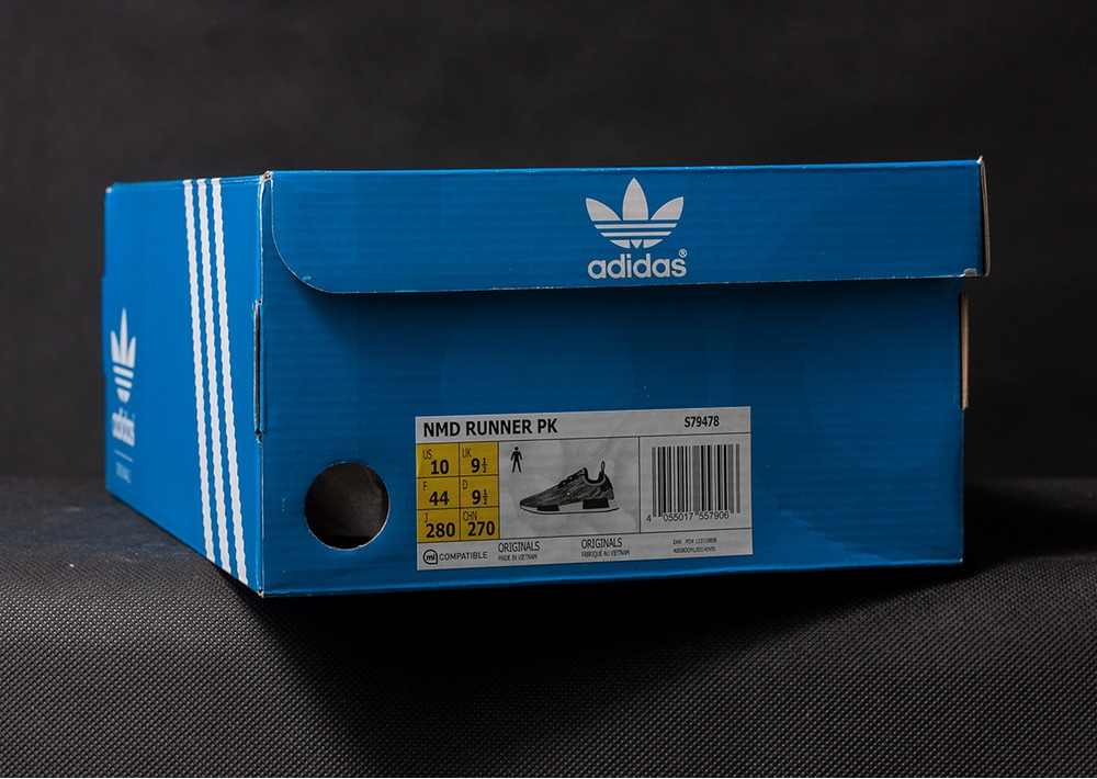 iqsjem adidas NMD Runner PK S79478 US 10 EU 44 UK 9.5 (DS, DOUBLE BOX
