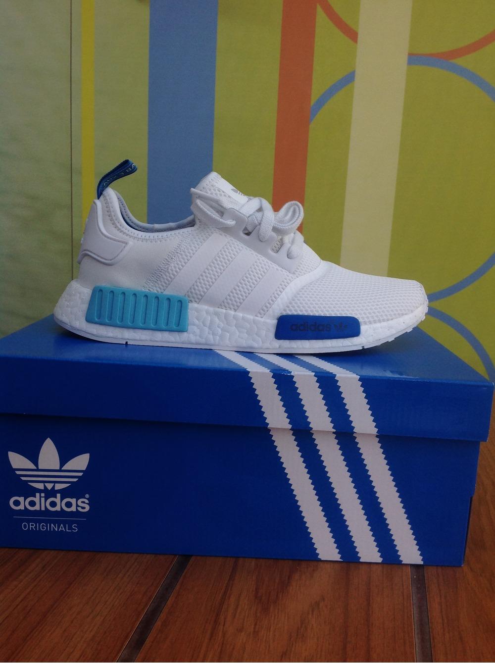 cpqdzt Adidas NMD White Blue ptmgardening.co.uk