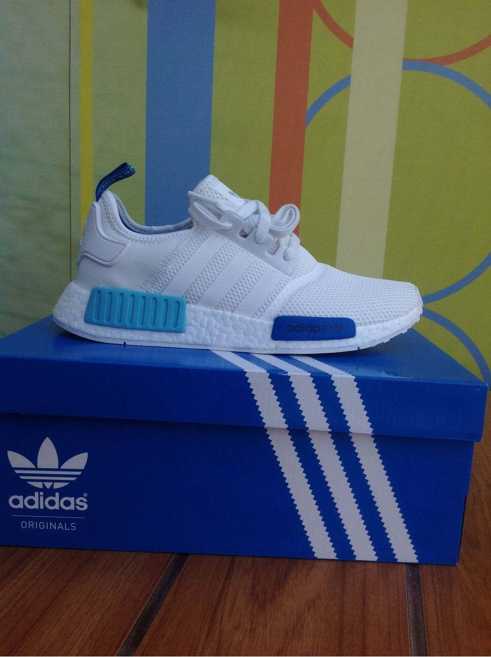 Nmd Adidas White Blue
