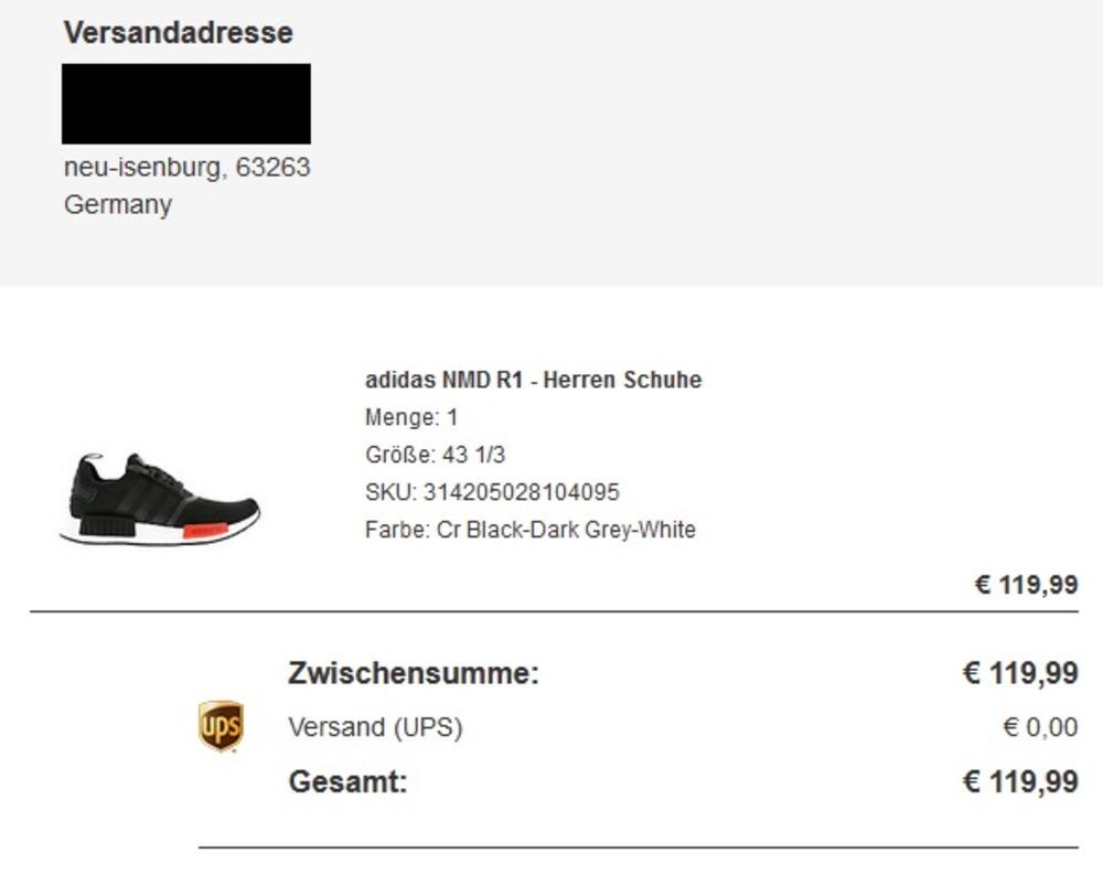 Adidas Nmd R1 X Footlocker