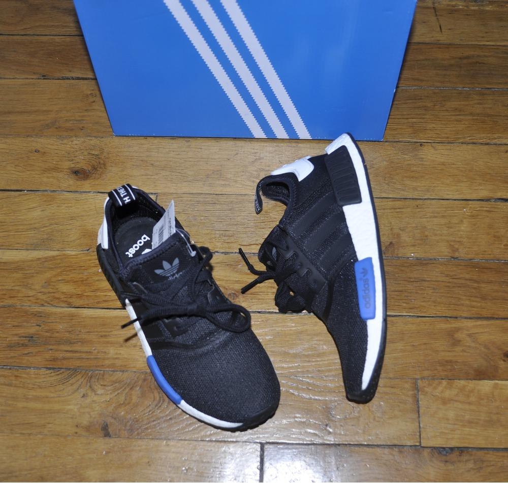 adidas 6 5. adidas nmd r1 runner nomad tokyo black/blue size 7 us 6,5 uk 6 5