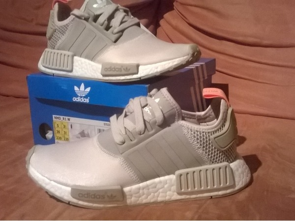 adidas nmd clear brown