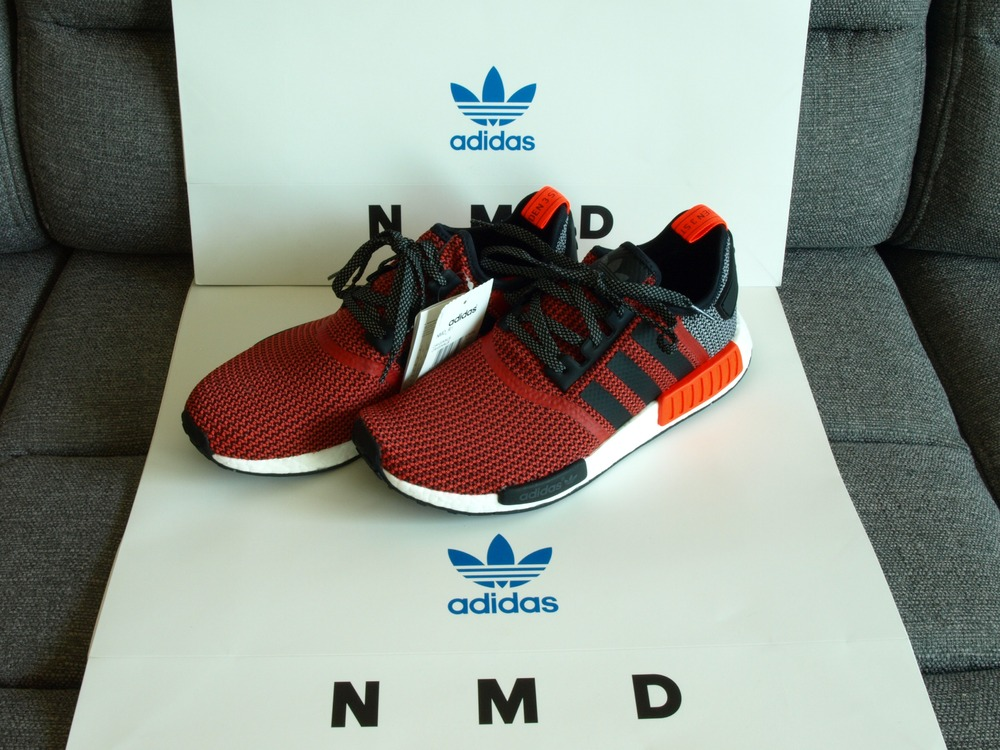 adidas nmd r1 rot. Black Bedroom Furniture Sets. Home Design Ideas