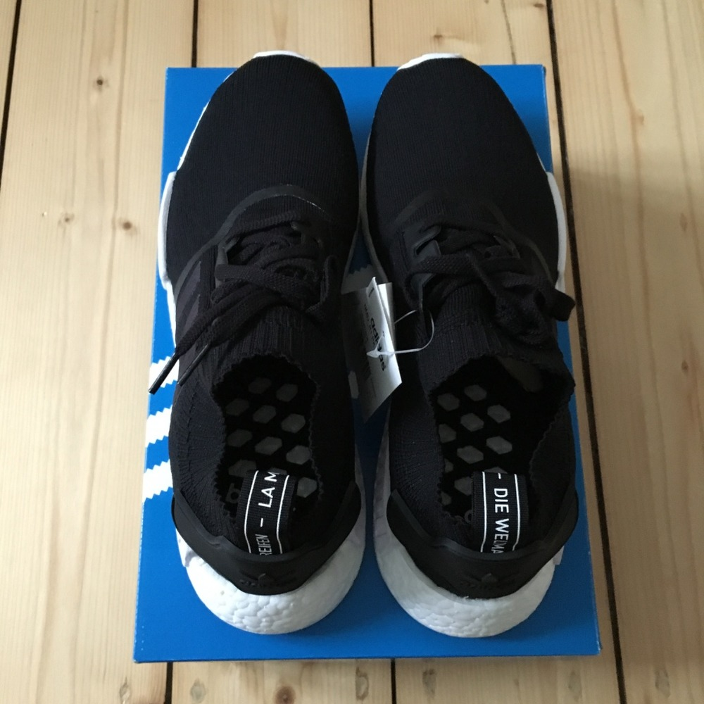 Adidas Nmd Monochrome Primeknit