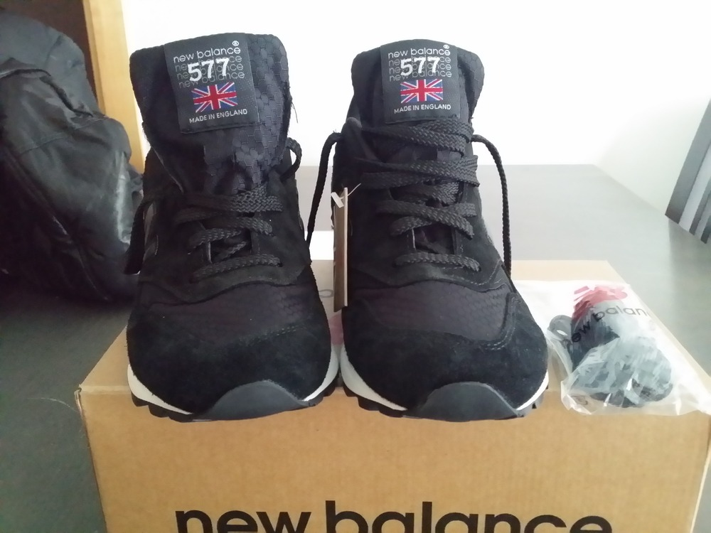 new balance m577 kk black