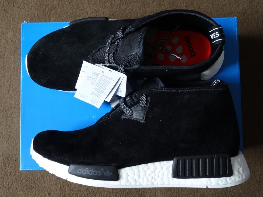 Hot Sale Adidas NMD C1 Boost Chukka Black White Sneaker, New