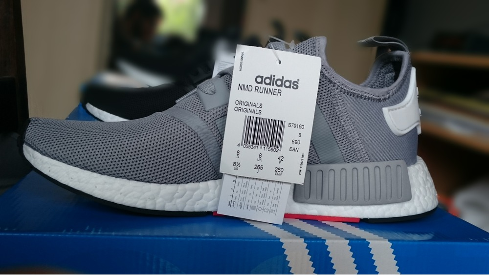 UA Adidas NMD Runner Pk Black Red Blue sneakeruns