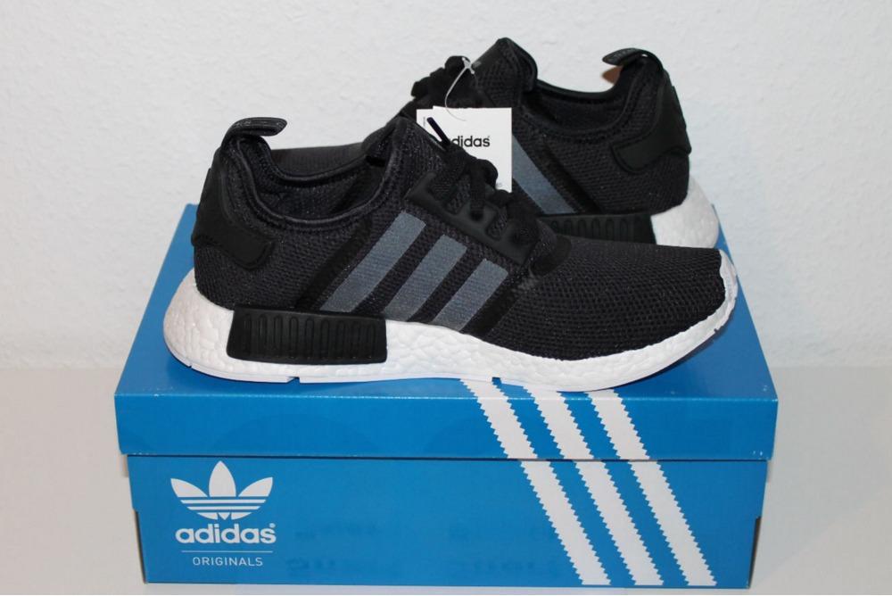 Adidas NMD R1 Tri Colour Black Unboxing