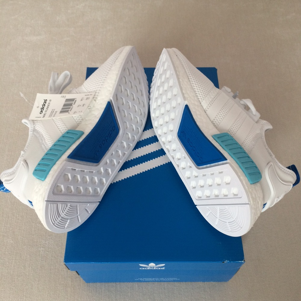 vkoyot Adidas NMD Blue White ptmgardening.co.uk