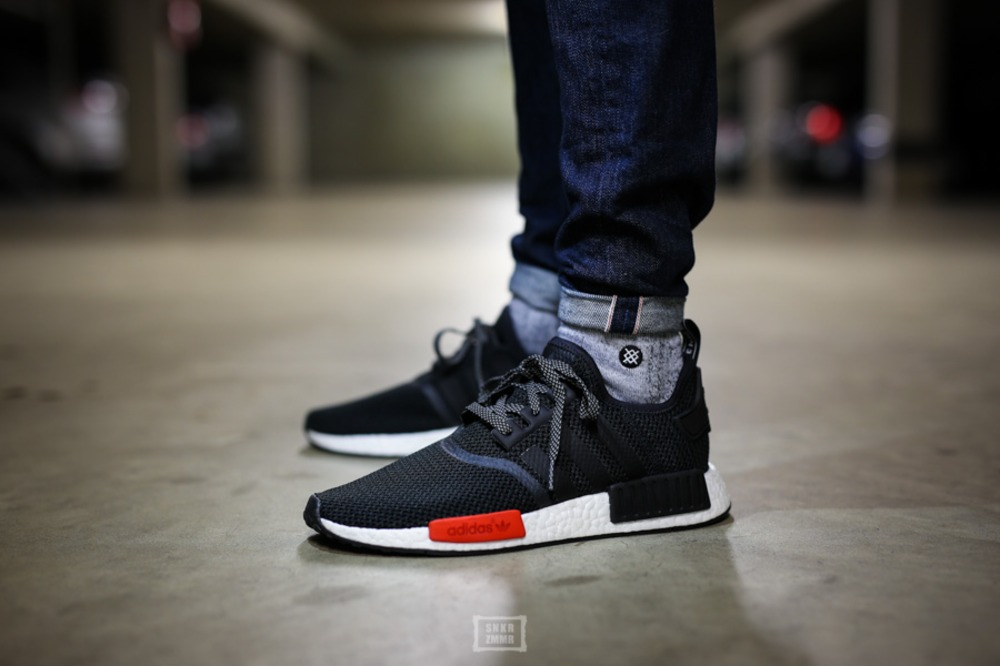 [BY1910] ADIDAS ORIGINALS NMD XR1 PK BLACK GRAY WHITE
