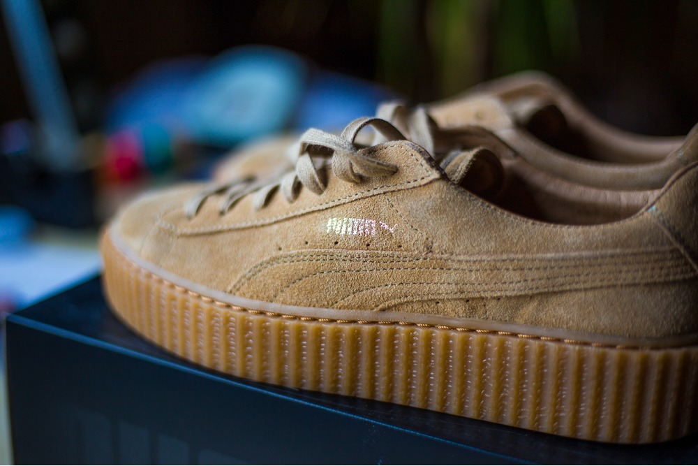 48c36b64a Puma Creepers Rihanna Oatmeal wearpointwindfarm.co.uk