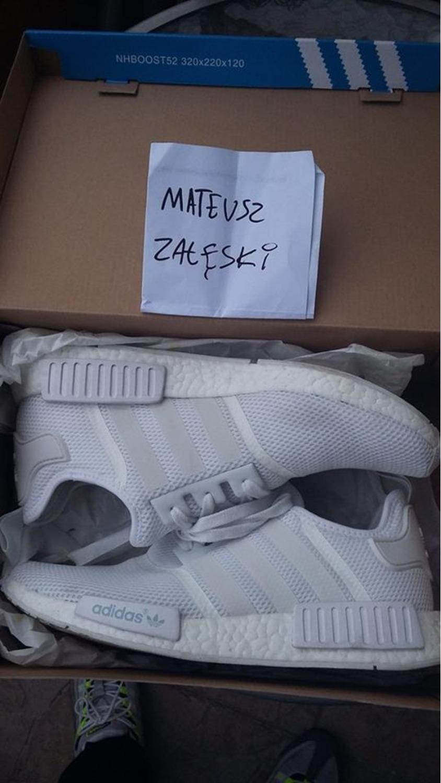 sdfmfp Adidas NMD all white mesh (#319142) from MatWujek at KLEKT