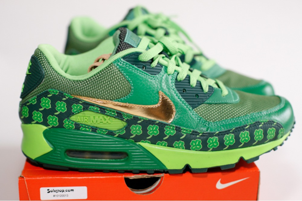 ... Nike Air Max 90 St Patricks Day Patrick QK - photo 26 ...