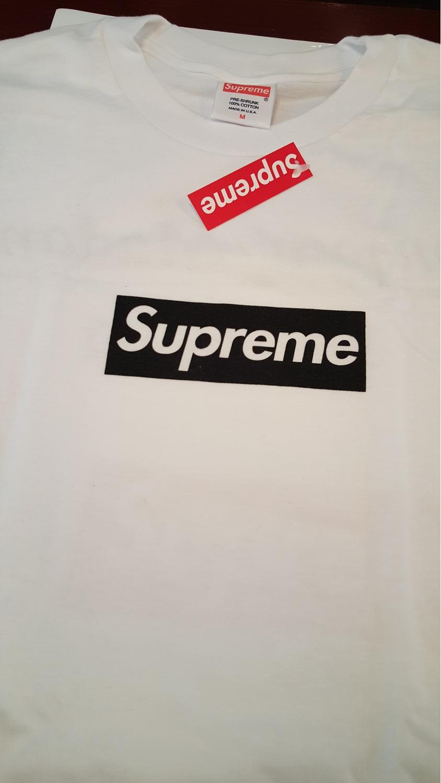 Supreme Paris Store Opening Box Logo Tee Quot Bonjour Madame