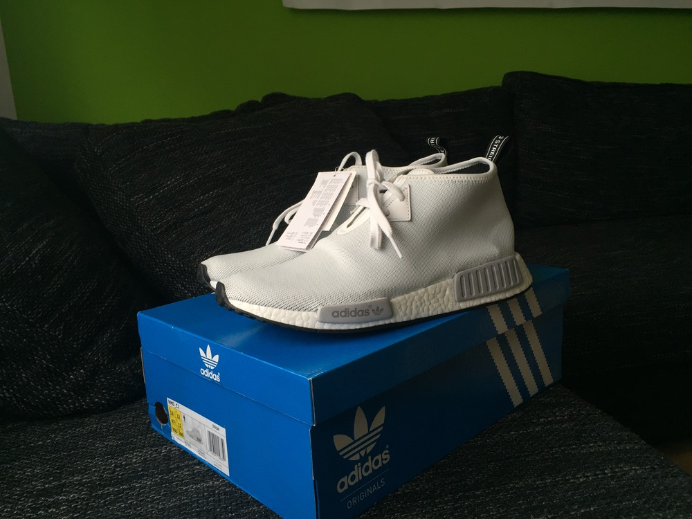 Cheap NMD All White