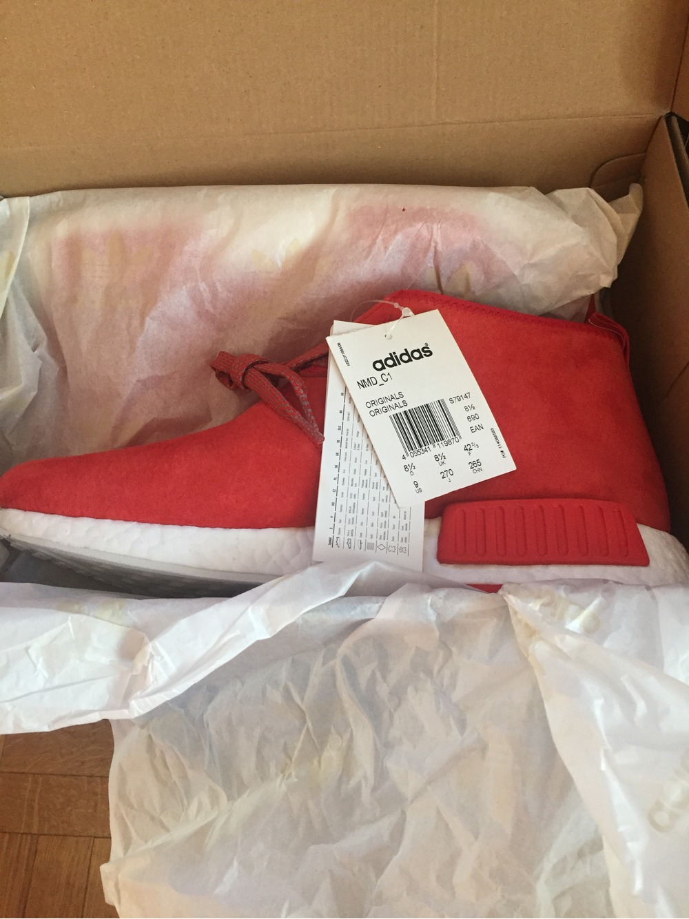 Adidas NMD Chukka OG Red white - photo 1/5