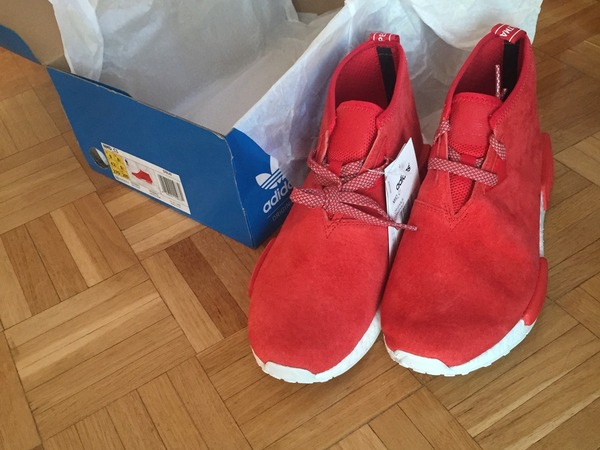 Adidas NMD Chukka OG Red white - photo 3/5