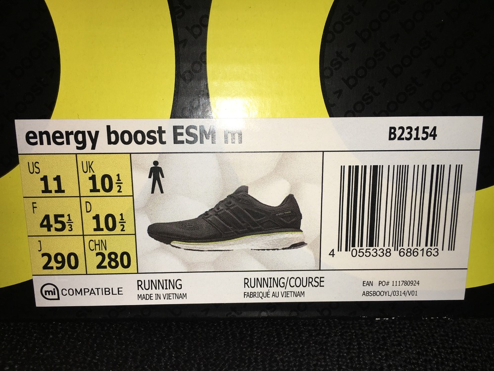 Adidas ENERGY BOOST REVEAL UNBOXING & REVIEW EN
