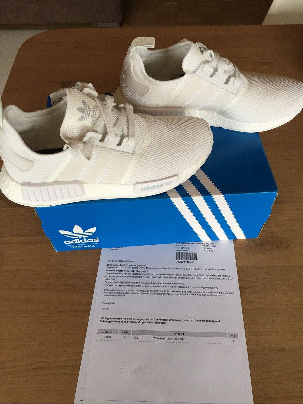 kotzlo Adidas NMD R1 all white mesh (#322356) from daHirsn at KLEKT