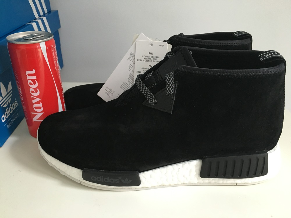 Adidas NMD C1 Chukka Red 8US 41.1/3FR 7.5UK DS (#318023