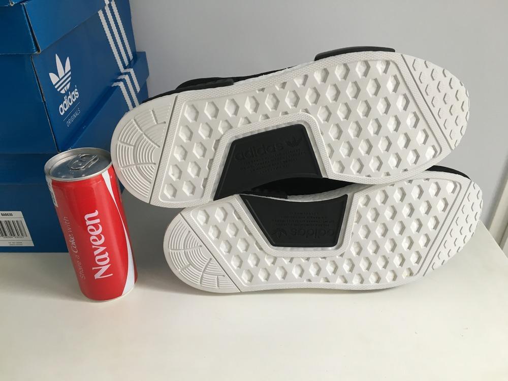 Cheap Adidas NMD R1 Charcoal Grey Wool Reflective 3M Gray
