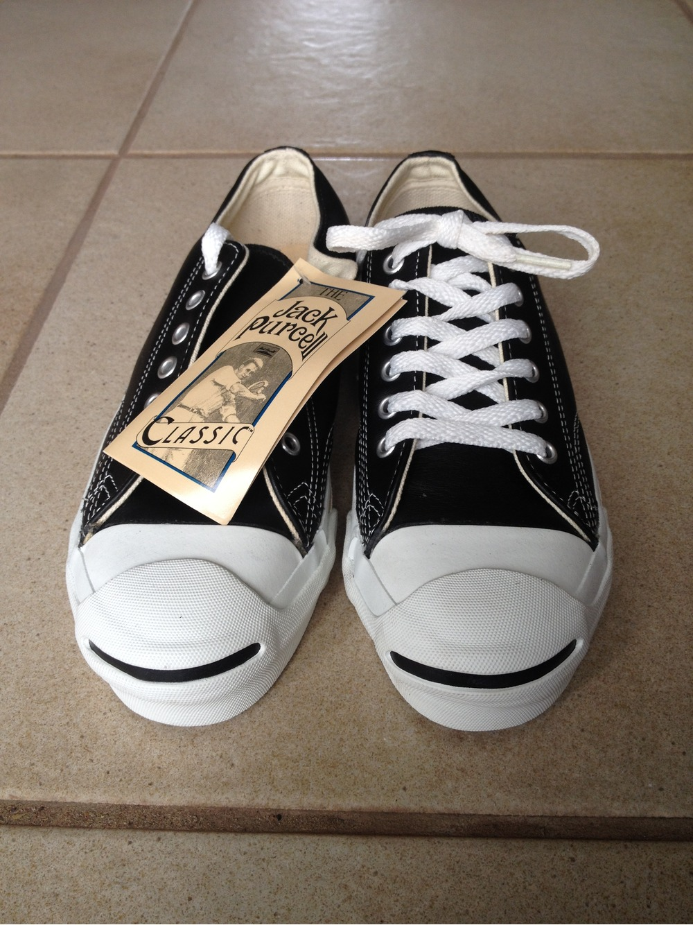 Converse Jack Purcell Made In USA Leather 325226 From