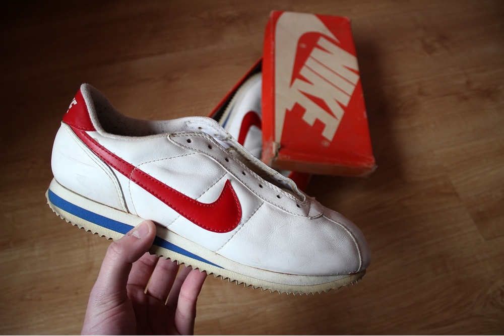 Nike Cortez Og White Red