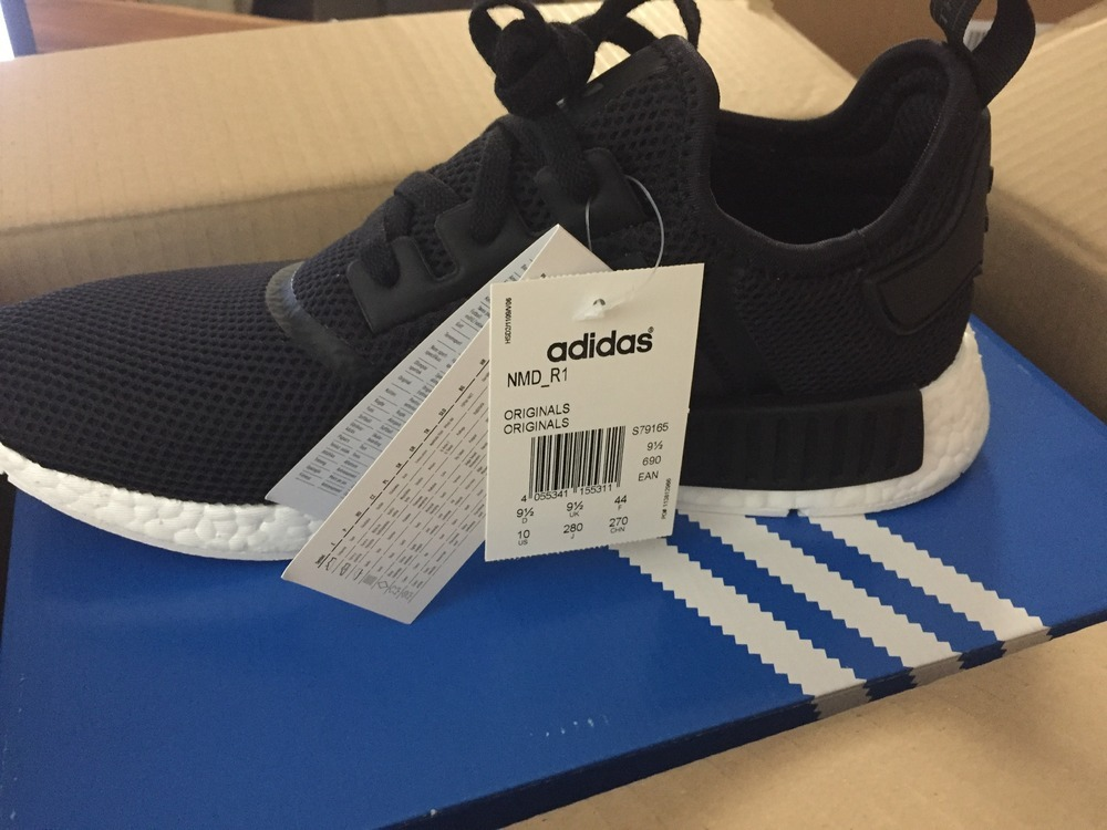 Adidas Nmd Runner Pk Black White