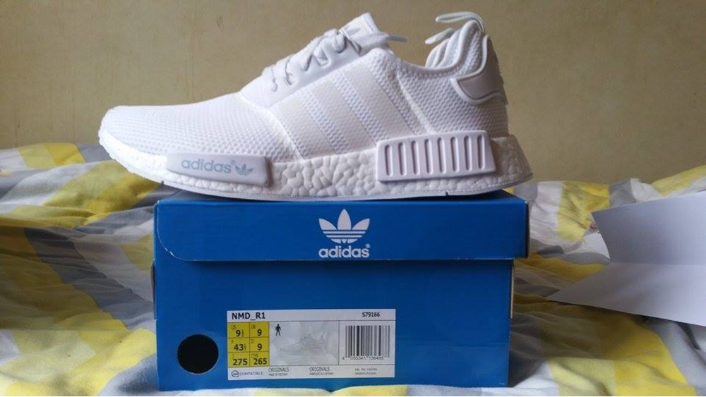 ahhwmh adidas nmd triple white for sale Buy authentic designer