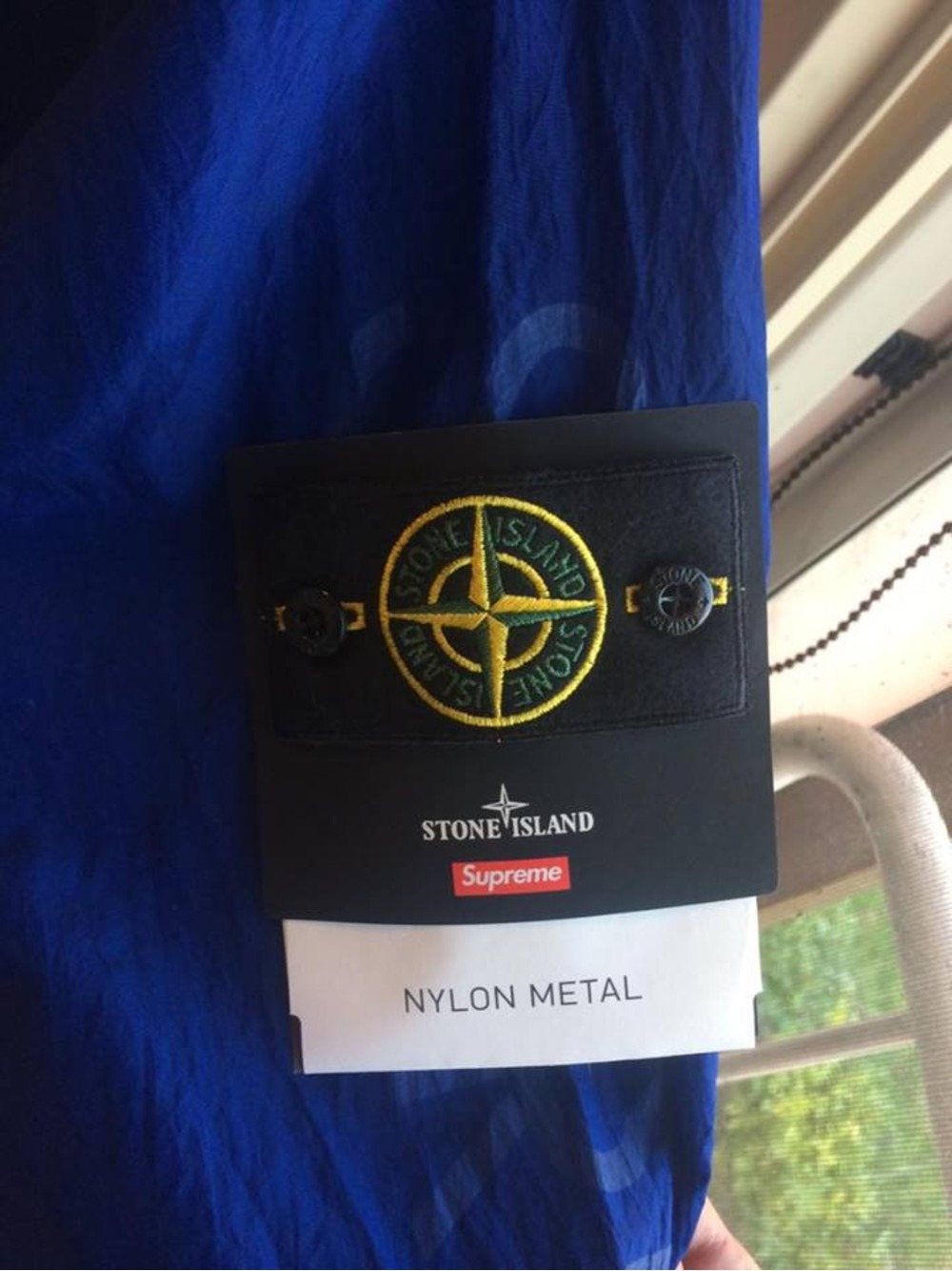 Supreme Stone Island Nylon Metal Jacket