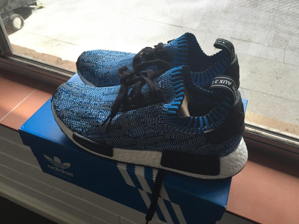 Adidas Nmd Primeknit Blue