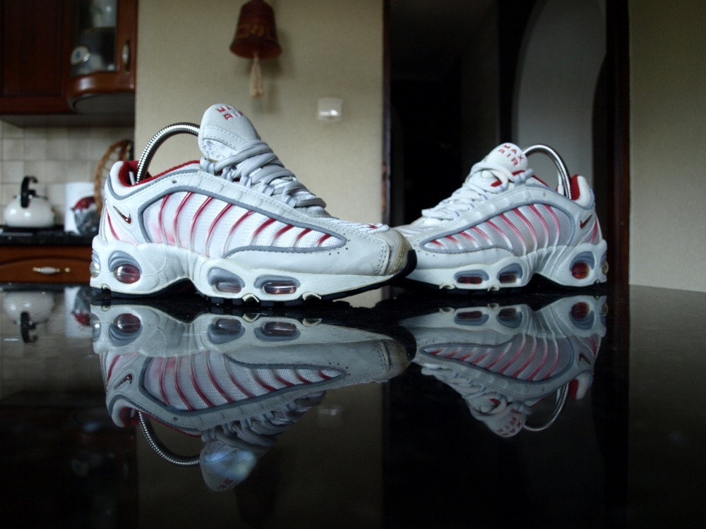 [510975 181] NIKE AIR MAX TAILWIND 96 12 WHITE ORANGE