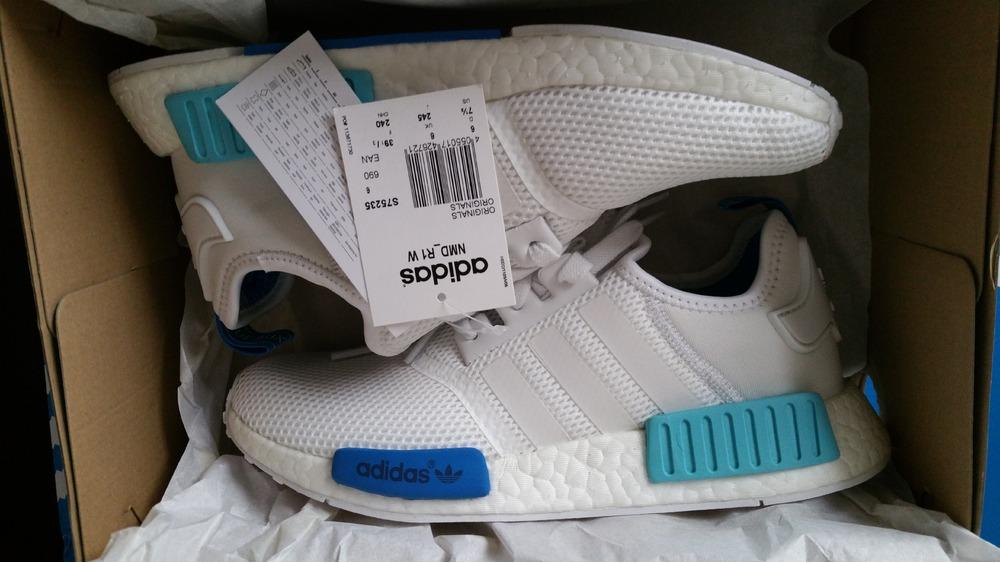 Adidas Nmd Runner White Blue