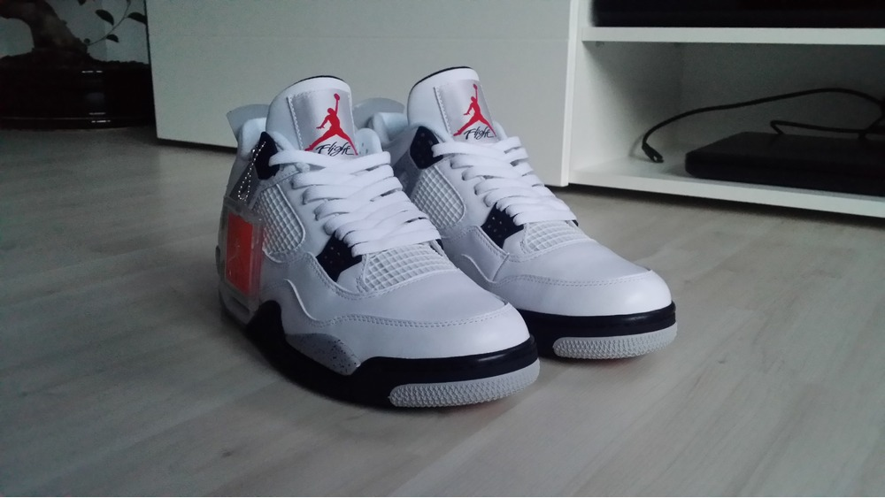 Air Jordan 4 Retro Cemento Blanco Og Bgt salida últimas colecciones wh8f5Wfn