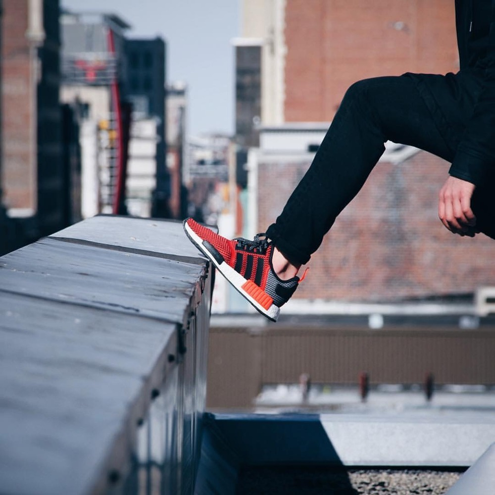 Adidas Nmd R1 Red Lush