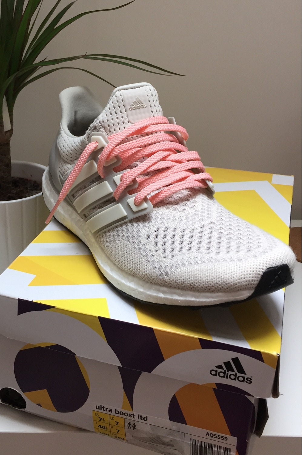 Adidas Ultra Boost White Cream